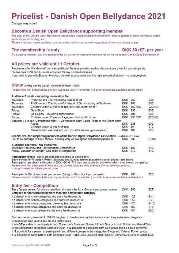Pricelist_DanishOpenBellydance_2021